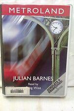 Metroland by Julian Barnes: Unabridged Cassette Audiobook (X2)