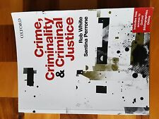 Crime, Criminality & Criminal Justice Text Book - ISBN 978-0-19-556636-9