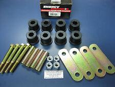 Heavy Duty Rear Shackle Set Kit Eye Bushing 67-81 Chevrolet Camaro 32135