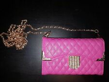 BLING! Pink wallet purse case for galaxy s4