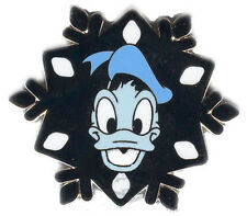 Disney Pin Collection 2007 Hotel Hidden Mickey Snowflake Donald Duck WDW