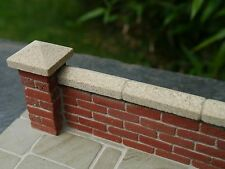 5 12mm REAL York Sandstone Miniature Wall Copings