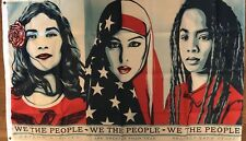 Women's March Flag 3x5 We The People Banner Trump Clinton Campaign