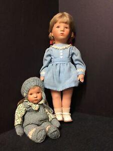 Two(2) Vintage Kathe Kruse Dolls