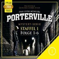 PORTERVILLE - STAFFEL 1: FOLGE 01-06 (MP3) 2 MP3 CD NEU