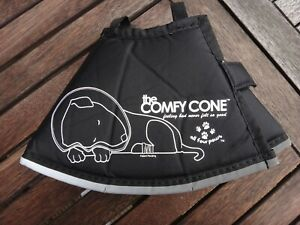 ALL FOUR PAWS THE COMFY CONE DOG PUPPY SOFT RECOVERY COLLAR size SMALL