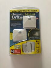 Sensor Brite Motion Activated LED Lights As Seen On Tv New Sealed-Free Shipping!