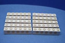LEGO 10 Technik Technic Lochstein Lochbalken 1x6 weiß | white brick 3894 389401