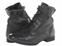 New Report Signature  Anzu black leather  ankle women's boots size 6.5