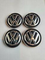 4x Original VW  Radkappen Felgendeckel VW Embleme VW Golf 7 Passat Tiguan 2