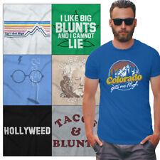 Stoner Pot Tee Shirt Graphic T-Shirt For Men Women Marijuana Tees Shirts Gift T