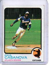 1973 TOPPS #452 PAUL CASANOVA ATLANTA BRAVES
