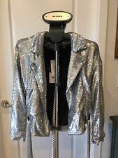 IRO Silver Sequins Jacket