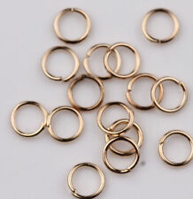 25-500Pcs Silver Plated Extra Strong Jewelry Jump Rings 4/5/6/8/10/12/14/20mm