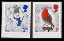 2016 CHRISTMAS 2nd and 1st Class SINGLE STAMPS from Booklets, Gravure