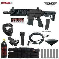 Tippmann Maddog TMC MAGFED Tactical Red Dot Paintball Gun Package