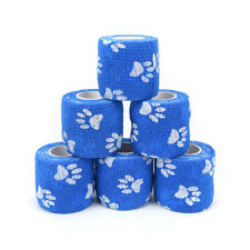 5cm x 4.5m Cohesive Flexible Bandage Cotton Sports Tape Self Adhesive XP