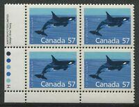 CANADA #1173i MINT INSCRIPTION BLOCK VF NH LL