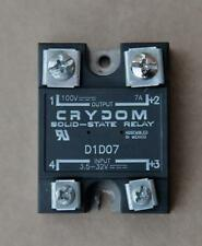 CRYDOM D1D07 SOLID STATE RELAY  #S851