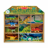 Melissa and Doug Dinosaur Party Play Set | 9 Pieces | Pretend Play