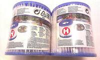 2 x INTEX Pool Pumpe Filter Filterkartusche Ersatzfilter Typ H 29007