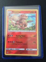 Arcanine 22/149 REVERSE HOLO Sun and Moon Base Set Pokemon card MINT TCG