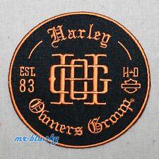 Monogram Patch ~ Harley Davidson Owners Group HOG  H.O.G.