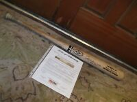 2003 RICKEY HENDERSON Autographed Game Used Easton Baseball Bat PSA Certified