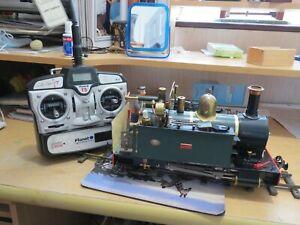 sm32 16mm narrow gauge Accucraft Live Steam Jedrig class 0-4-0 Locomotive R/C