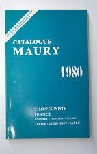 RARE CATALOGUE MAURY 1980  EN PARFAIT ETAT  -  395 PAGES
