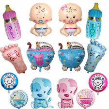 5 LARGE BABY FOIL HELIUM BALLOON BABY SHOWER CHRISTENING BIRTHDAY PARTY BOY GIRL