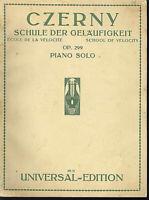Czerny : Schule der Geläufigkeit Op. 299 ~ Piano solo
