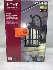 New listing Home Decorators Collection Summit Ridge Collection Zinc Outdoor Led . E3