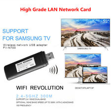 Wireless WLAN LAN Adapter Wifi USB Dongle For Samsung TV WIS12ABGNX WIS09ABGN