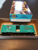 Athearn HO Scale Box Car Great Northern G.N. 27024 Teal Green Vintage