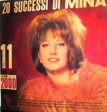 MINA 20 SUCCESSI LP AA.VV. LABEL ITALDISC DISCO N.11  SERIE NIAGARA ANNO 1964