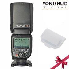 Yongnuo YN600EX-RT II HSS TTL Master Speedlite-Blitz  Mit Diffusor Für Canon DE