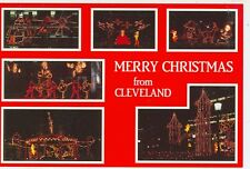 CLEVELAND,OHIO FESTIVE HOLIDAY CHRISTMAS DISPLAYS DOWNTOWN (CD#39*)