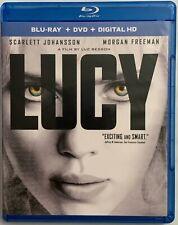LUCY BLU RAY DVD 2 DISC SET BUY IT NOW FREE WORLD WIDE SHIPPING SCARLET JOHANSEN