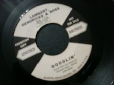 LAMBERT HENDRICKS & AND ROSS SPIRIT FEEL 45 RECORD DOODLIN PROMO