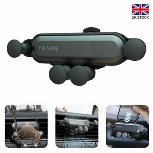 Universal Gravity Car Mobile Phone Holder Air Vent Stand Cradle Mount Bracket UK