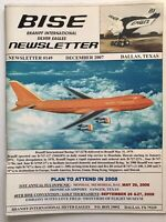 Braniff International BISE Employee Newsletter Rare Collectible 2007 Pilot