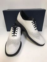 Cole Haan 2. Zerogrand Laser Wing C25706 Optic White Leather Oxfords Men's