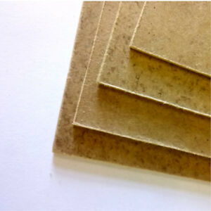 1 x Thin MDF Sheet / Panel - Size 24 x 30cm (9.4 x 11.8 inches)