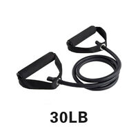 Yoga Pull Rope Elastic Resistance Bands Fitness Workout Exercise Tubes 120cm