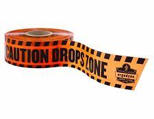 Ergodyne Squids 3601 Caution Tape with Drops Zone Roll 1000' Orange 1000 Ft