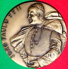 POPE JOHN PAUL II - OUR LADY OF FATIMA BRONZE MEDAL