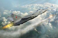 Russian Mig-31 Foxhound Fighter 1:72 Plastic Model Kit TRUMPETER