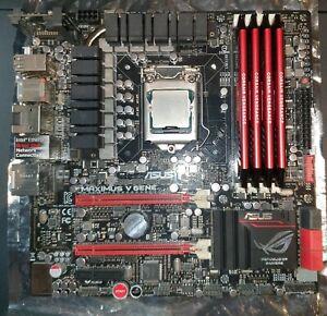 BUNDLE: Intel i7-3770K 3.5GHz 4C/8T, ASUS Z77 ROG Maximus V GENE, 32GB DDR3 RAM.