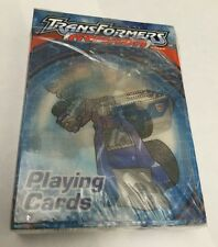 Set of 3 Playing Card Decks - Transformers, $100 Bill & California Hotel Casino